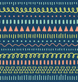 doodles seamless pattern ethnic and tribal vector image vector image