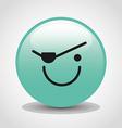 emoticon face vector image