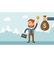 Exchange of money in idea vector image vector image