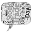 From Beginner To Forex Trader text background vector image vector image