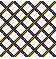 geometric seamless pattern with crossed lines vector image vector image