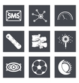 Icons for Web Design set 40 vector image vector image