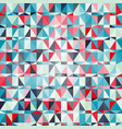 seamless abstract pattern with triangles vector image