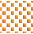 square biscuit pattern seamless vector image vector image