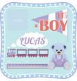 Template for a newborn boy