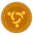 community digital coin vector image