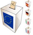 european urn symbol vector image