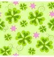 saint Patrick's day seamless pattern vector image