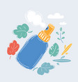 spray bottle icon sign vector image