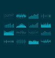 abstract business analytics and statistics vector image vector image