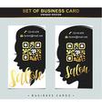 design template business card for beauty salon