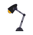 desk light lamp vector image vector image