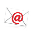 mail isolated vector image vector image