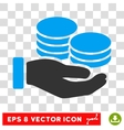 Salary Eps Icon vector image vector image