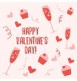 Valentine day pattern 2 vector image