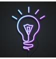 Neon Lamp vector image