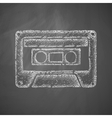 audiocassette icon vector image
