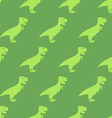 Dinosaur seamless pattern Texture of ancient vector image vector image