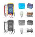 electricity and electric vector image vector image