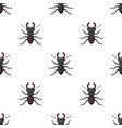forest red ant icon in cartoon style isolated on vector image vector image