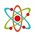 molecule atom partile icon vector image