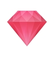 red diamond vector image vector image
