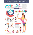 sports and healthy life business vector image vector image