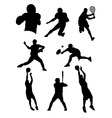 sports athletes vector image