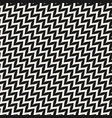 zigzag diagonal chevron seamless pattern vector image