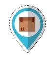 carton box packing icon vector image vector image