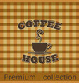 coffee house advertising poster vector image