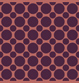 color halftone circle pattern background vector image vector image