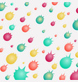 colorful of ball meteor shape pattern background vector image