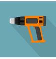 flat industrial dryer vector image vector image