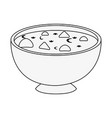 soup delicious food vector image