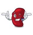 wink spleen character cartoon style vector image