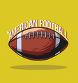american football sport ball vector image