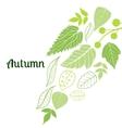 autumn7 vector image vector image