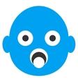Baby Head Icon vector image vector image