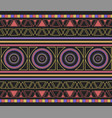 ikat tribal art print seamless african pattern vector image vector image