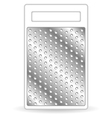 Metal Grater Isolated on White vector image