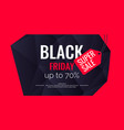 original poster for black friday sale abstract vector image