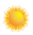 sun symbol icon logo vector image vector image