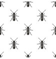 ant icon in cartoon style isolated on white vector image vector image