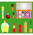 Decorative cosmetics vector image
