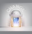 door to change vector image