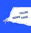 fake news symbol vector image