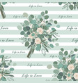 flower bouquet seamless pattern endless vector image