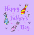 happy father day design background vector image vector image