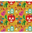 Mexico - pattern with icons